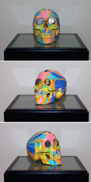 Damien Hirst, 'The Hours Spin Skull #3', 2009, Kenneth A. Friedman & Co.