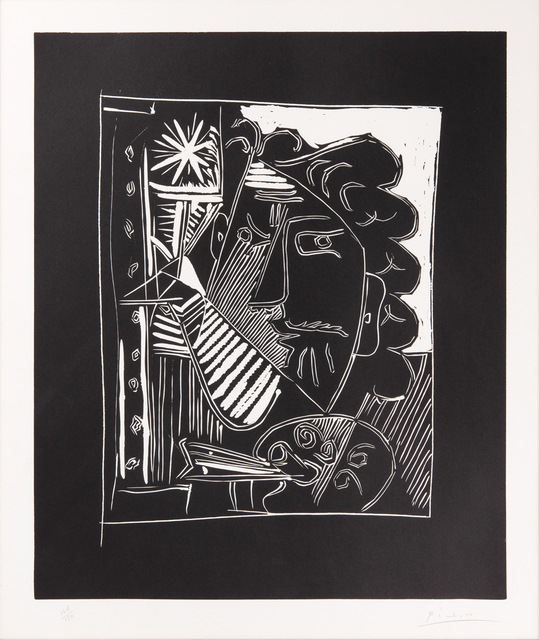 Pablo Picasso, 'Le Peintre et sa toile', 1963, Odon Wagner Gallery