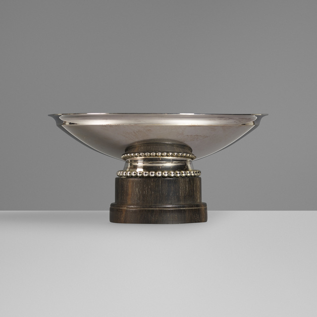 Philippe Wolfers, 'Silver bowl', c. 1930, Wright