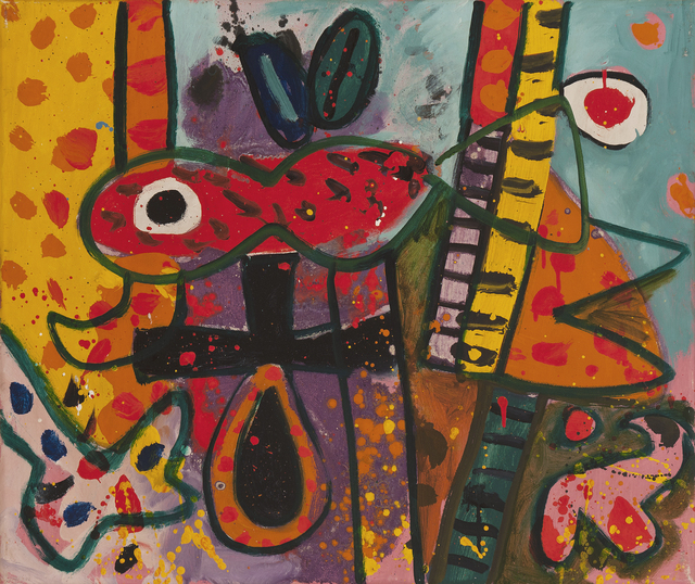 , 'The All-Seeing Fish No. 2,' 1967, Hollis Taggart Galleries