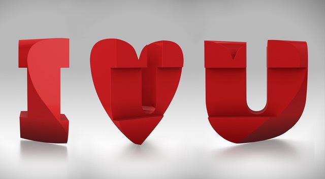, ' I Heart U,' 2017, CHOI&LAGER
