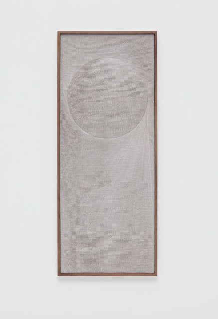 , 'Untitled (Etched Plaster),' 2018, Marianne Boesky Gallery