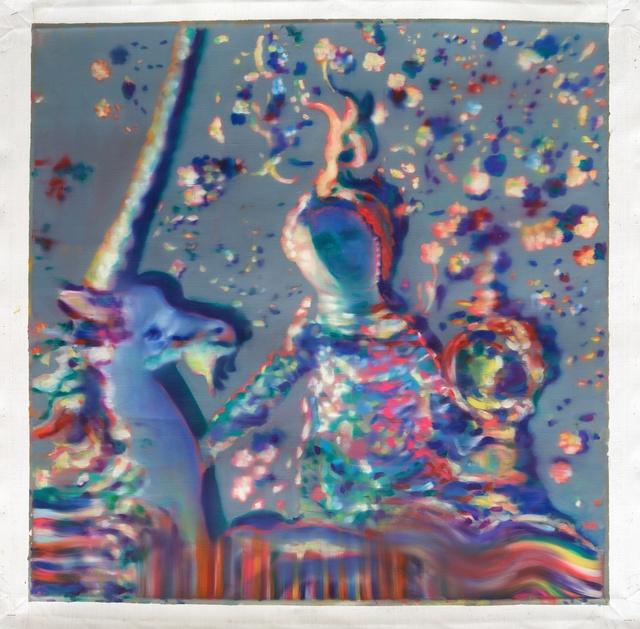 , 'The lady and the unicorn ,' 2015, Galleria Doris Ghetta