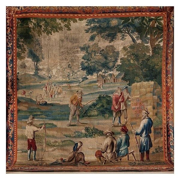 Judocus de Vos, 'Play scenes in the taste of Teniers', 17th century, Galería Marita Segovia