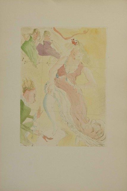Jules Pascin, 'Cinderella', ca. 1965, The Munn Collection