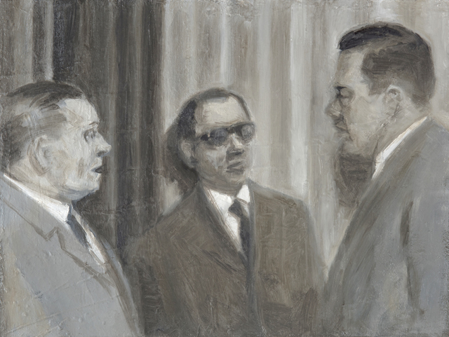 , 'Three Men,' 2017, Slete Gallery