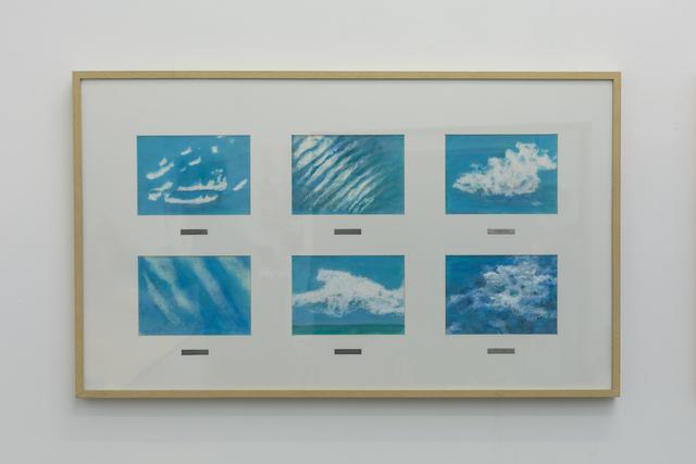 , 'Tipologia das Nuvens (L. Loward, 1803) - Estudos sobre o vento I,' 2014, Galeria Aura