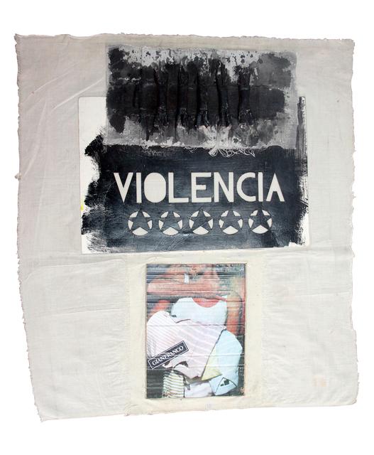, 'Violencia,' 1984, Herlitzka + Faria
