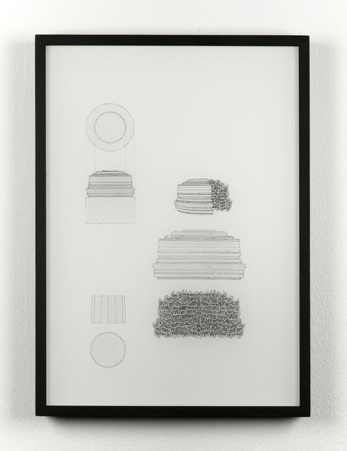 , 'Drawing for Article 49b,' 2016, Galleria Raffaella Cortese