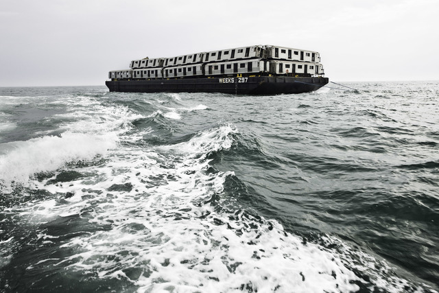 """, '""""Weeks 297"""" Sea Train, Subway Reef Photograph by Stephen Mallon ,' 2008, Front Room Gallery"""