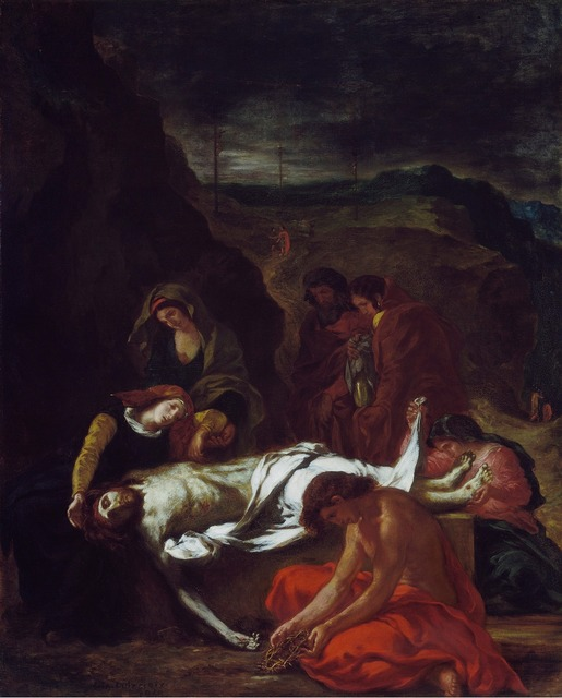 , 'The Lamentation,' 1848, The National Gallery, London