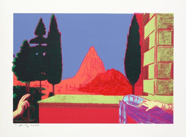 Andy Warhol, 'Details of Renaissance Paintings (Leonardo da Vinci, The Annunciation, 1472)', 1984, Zeit Contemporary Art