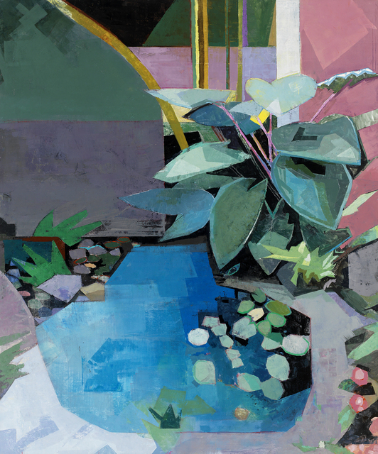 , 'The Noble Blue Garden,' 2014, Gallery Henoch