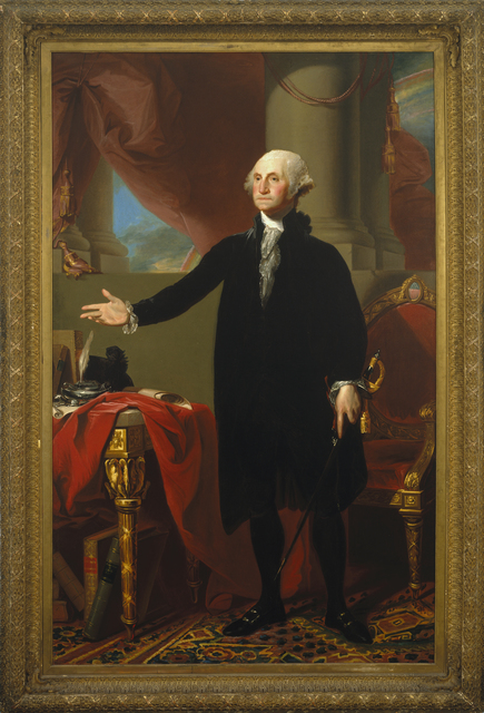 Gilbert Stuart, 'George Washington', 1796, Brooklyn Museum