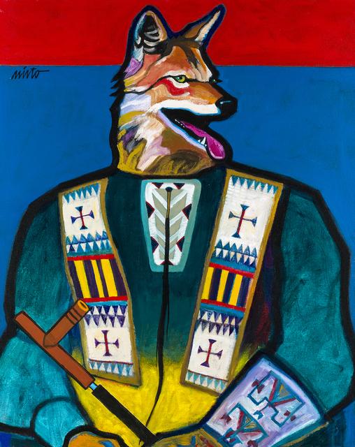 , 'Coyote Medicine,' 2015, Ventana Fine Art