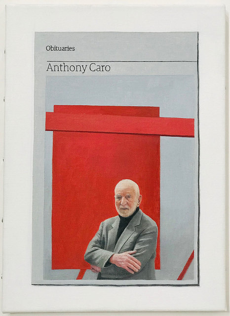 Hugh Mendes, 'Obituary: Anthony Caro', 2018, Robert Fontaine Gallery
