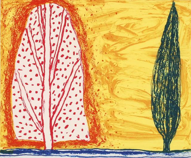 , 'Two Trees,' 2007, Stoney Road Press