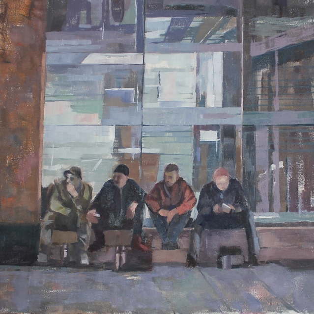 , 'On the wall,' , Castlegate House Gallery