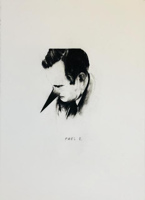 , 'Portrait Paul E. (Paul Engelman),' 2018, Mario Mauroner Contemporary Art Salzburg-Vienna