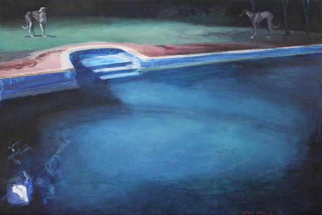 , 'Moonlit Hounds Interacting,' 2017, 99 Loop Gallery