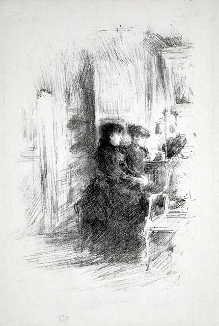 , 'The Duet,' 1894, Harris Schrank Fine Prints