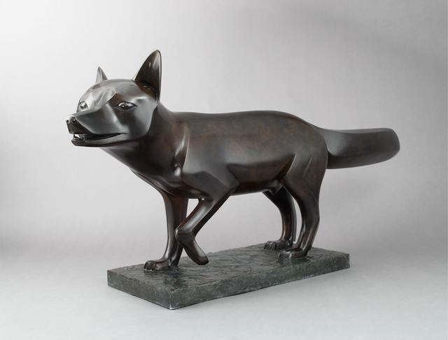 , 'Red Fox,' 2002, Galerie Dumonteil