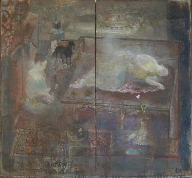, 'Spring Musing -VI (diptych) 春夢暗隨三月景(雙聯)之六,' 2014, Alisan Fine Arts