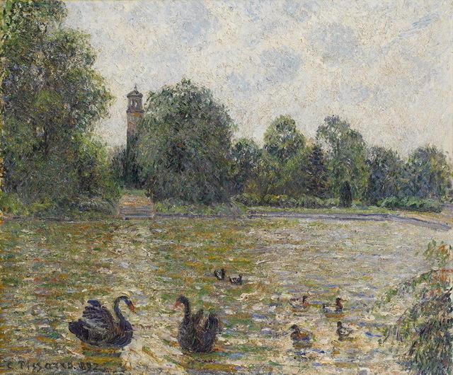 , 'Pièce d'eau à Kew, Londres,' 1892, Galerie Boulakia