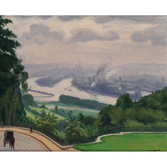 Albert Marquet, 'Canteleu, Rouen, rainy weather', 1927, PIASA