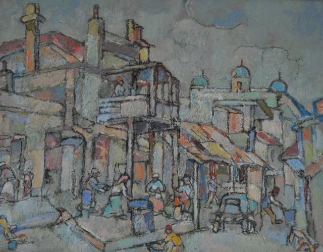 Gregoire Johannes Boonzaier, 'District Six', ca. 1980, Axis Art Gallery