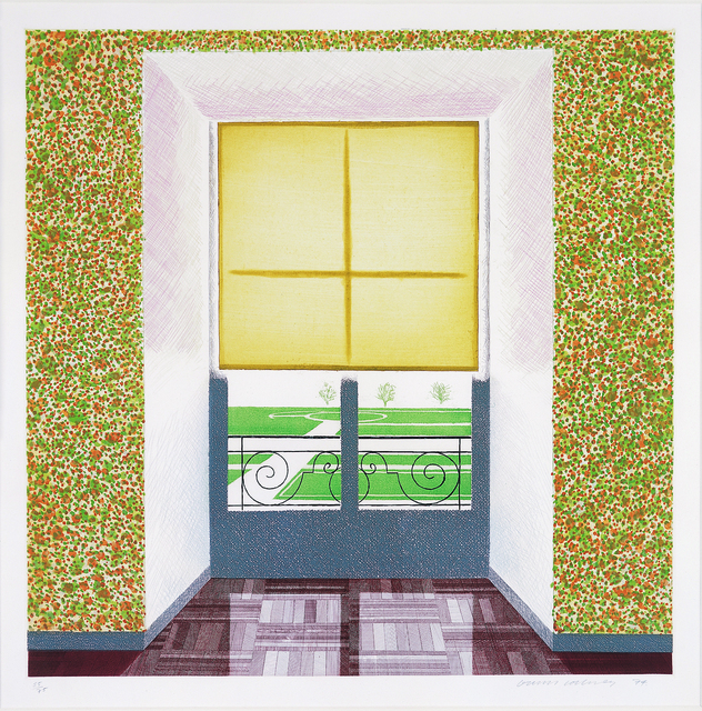 David Hockney, 'Contrejour in the French Style', 1974, Lyndsey Ingram