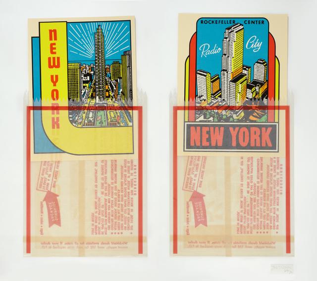 Joe Tilson, 'N.Y. Decals 3 & 4', 1967, Marlborough