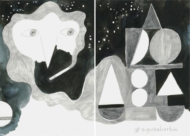 , 'La noche es nuestra (#augusteherbin),' 2018, Estrany - De La Mota