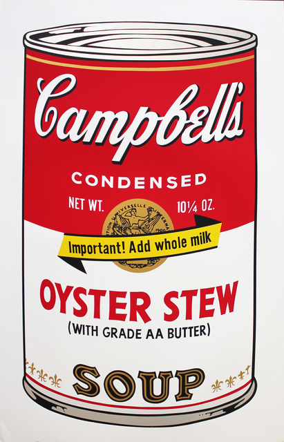 Andy Warhol, 'Oyster Stew, Campbell's Soup II ', 1969, Robert Berman Gallery