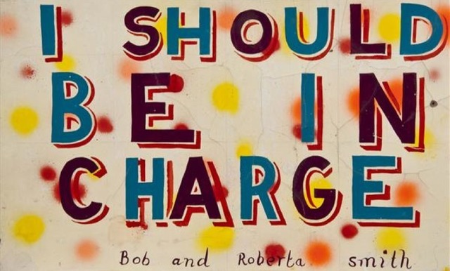 , 'I should be in charge,' 2010, Cultural Avenue