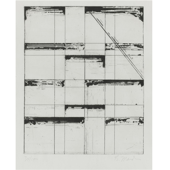 Brice Marden, 'Etching for Parkett', 1985, Print, Etching and aquatint, inde/jacobs