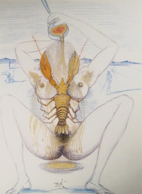 Salvador Dalí, 'Nude and Lobster', 1967, DTR Modern Galleries