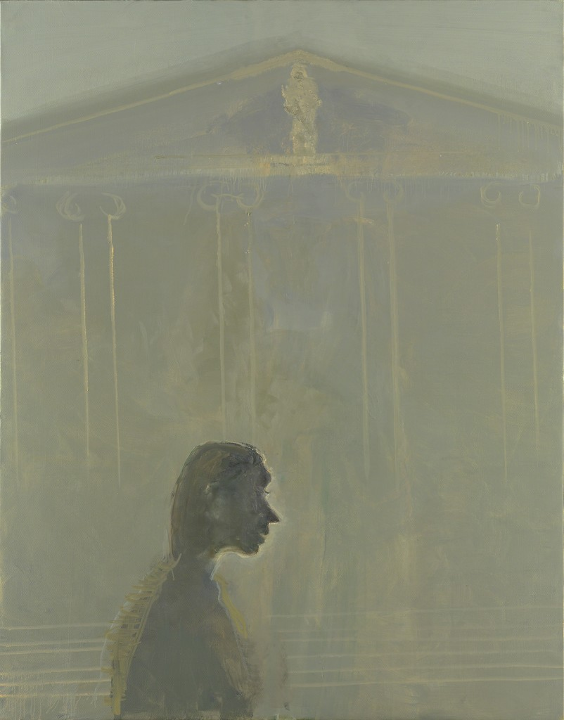 Celia Paul, 'In Front of the Museum,' 2008, Victoria Miro