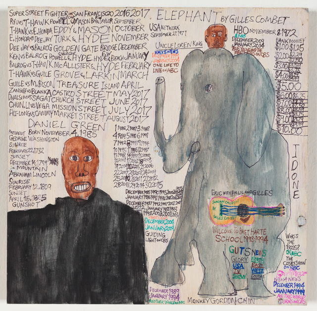 Daniel Green, 'Elephant by Gilles Combet,', 2016, Creativity Explored