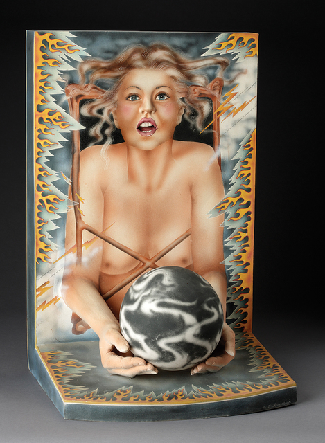 Patti Warashina, 'Beating the Housewife Blues', 1977, Ferrin Contemporary