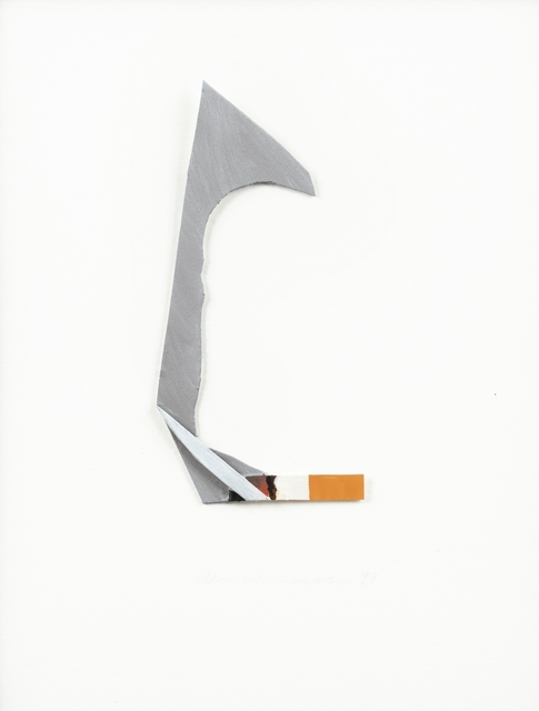 Tom Wesselmann, 'smoking cigarette', 1999, Simoens Gallery