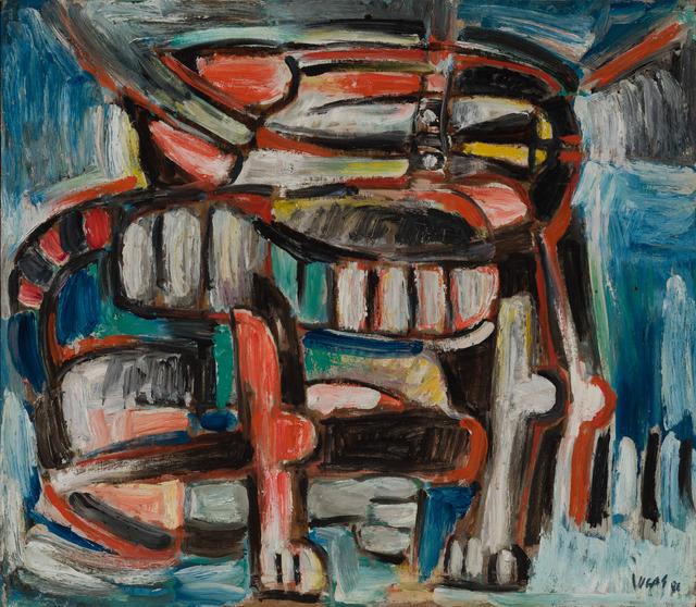 Oswaldo Vigas, 'Felino', 1986, Galería RGR
