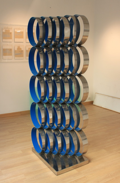 Marina Apollonio, 'Struttura in Acciaio 6 x 5', 1969, Sculpture, Steel and acrylic, OSART GALLERY