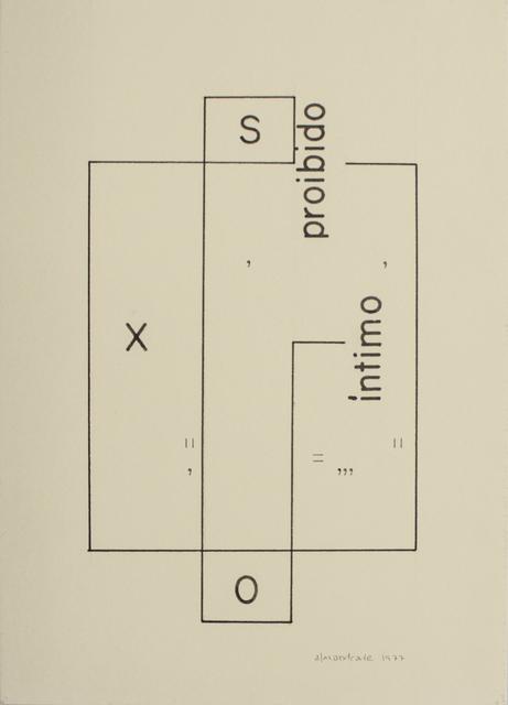 , 'Untitled,' 1977, Baró Galeria