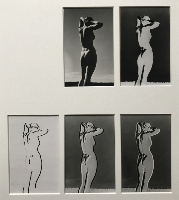 Andreas Feininger, 'Series of 5 variants of a nude study', 1937, Jackson Fine Art