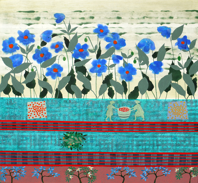 , 'Bhutan - Meconopsis,' 2018, Thackeray Gallery