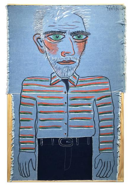 , 'Self-Portrait in Jeans ,' 2015, Anna Zorina Gallery