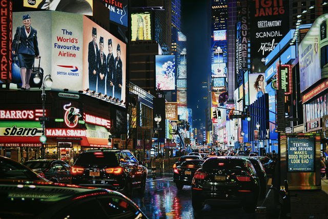 Don Jacot, '49th and Broadway', 2019, Louis K. Meisel Gallery