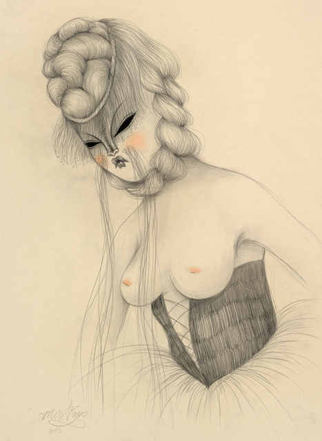 , 'Long Mustach Lady,' 2013, Isabel Croxatto Galería