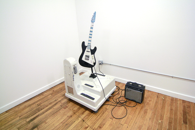 , 'Untitled (Guitar),' 2015, Corey Oberlander + Lindsey Stapleton